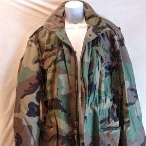 Heavy Duty Unisex Army Jacket